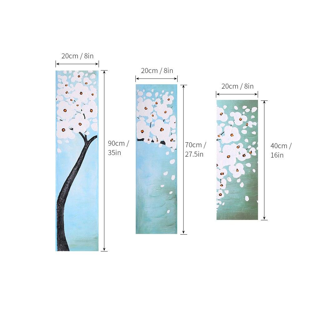 Картина на холсте, акриловая живопись, настенные художественные картины для гостиной, домашний декор, современный абстрактный цветок, квад... - 3