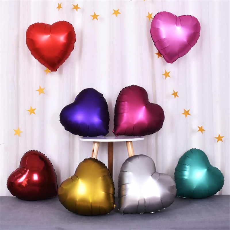 5 pçs/lote 18 polegada estrela de Cinco pontas-foil balões do chuveiro de bebê De Metal Balão balão de casamento aniversário decorações do partido crianças globos