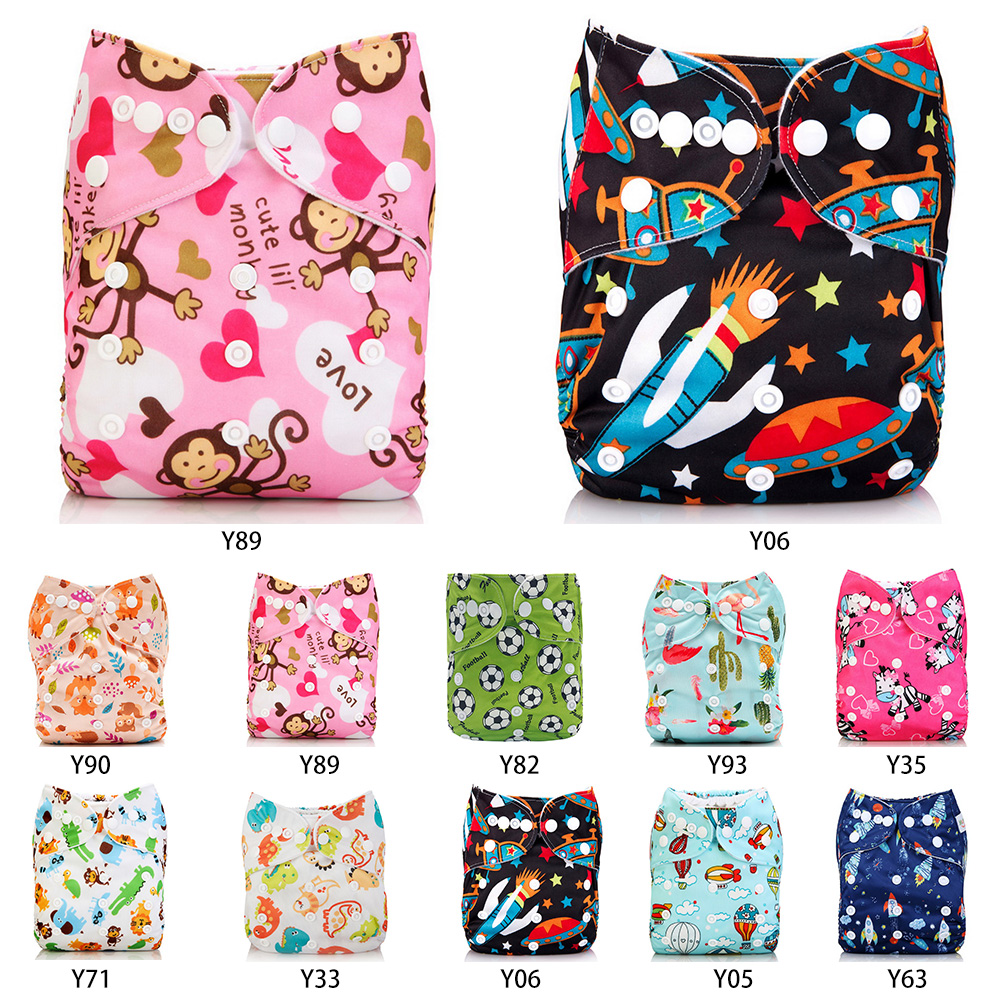 Ecological Diapers Eco-friendly Diaper Cover Wrap Washable Diapers Couches Lavables Baby Nappy Reusable Nappy Baby Pocket Cloth