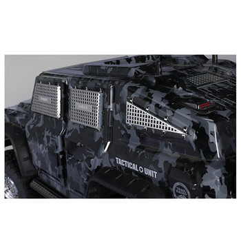 Tactical Metal Window Mesh Net Stainless Steel 3D Side Window Armor For DJ TACTICAL UNIT TRX4 RC Cars DIY Modified Parts