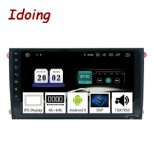 """Idoing 9 """"8 Core 2Din Android 9,0 Car Radio GPS DVD reproductor Multimedia 4G + 64G para Porsche Cayenne/Cayenne S/Cayenne GTS 2003-2010"""