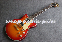 New Arrival CS Cherry Sunburst YMH Style Suneye SG Electric Guitar Left Handed DIY Guitar Kit Custom Available цены онлайн