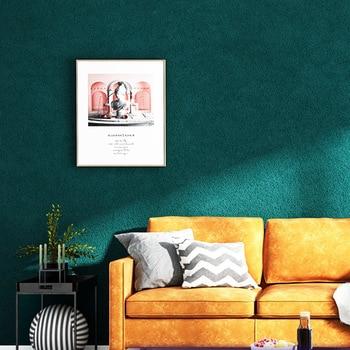 Modern Minimalist Solid Color Plain Color Waterproof Wallpaper Living Room Bedroom Milk Tea Clothing Store Northern European