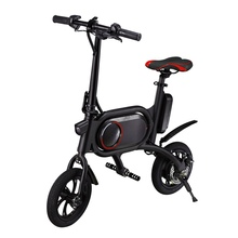 CS-P01 12 Inch Air Tire Electric Bike Bicycle Dual Rear Drive Front And Rear Dis