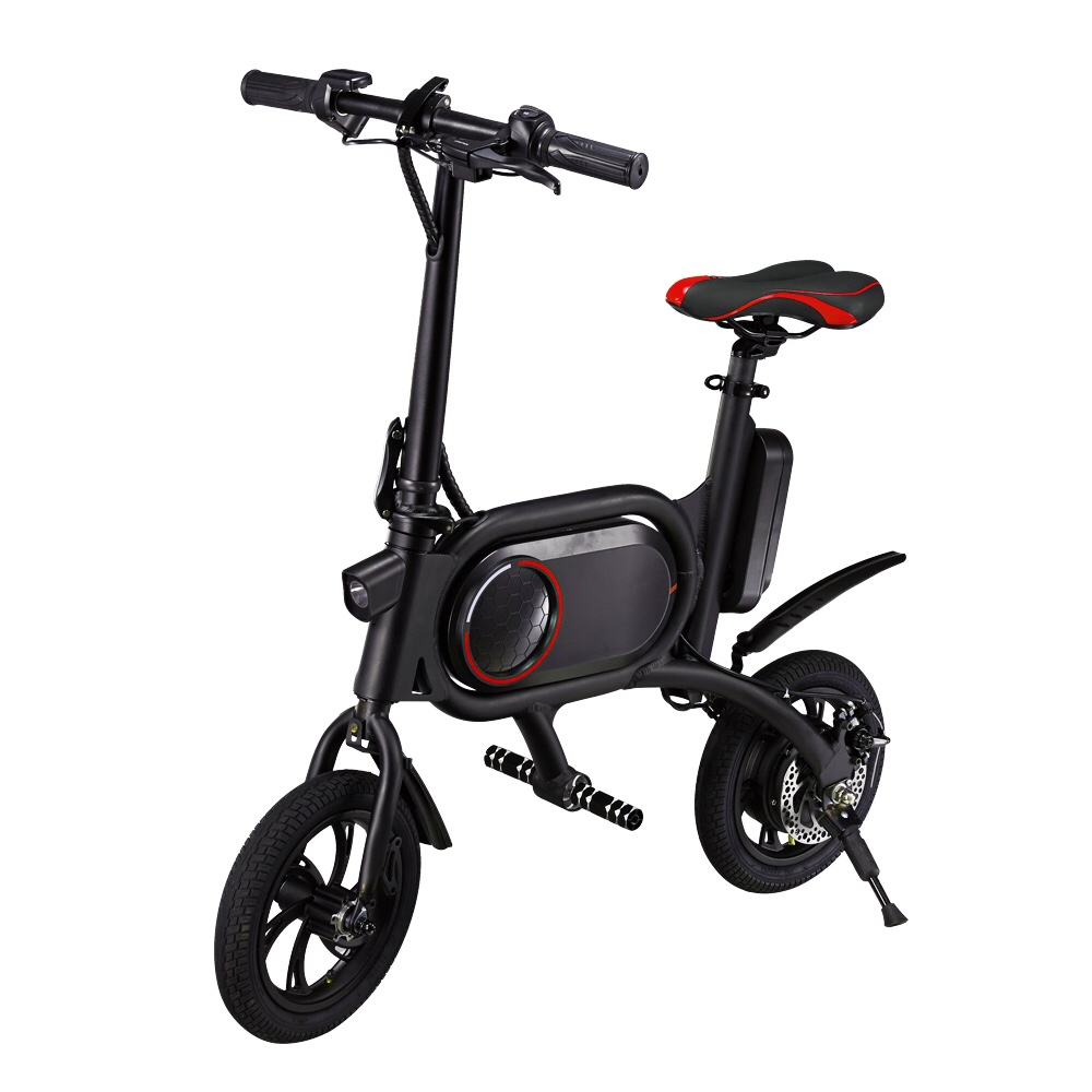 CS-P01 12 Inch Air Tire Electric Bike Bicycle Dual Rear Drive Front And Rear Disc Brakes Lithium Battery 36V 5.2AH E-Bike