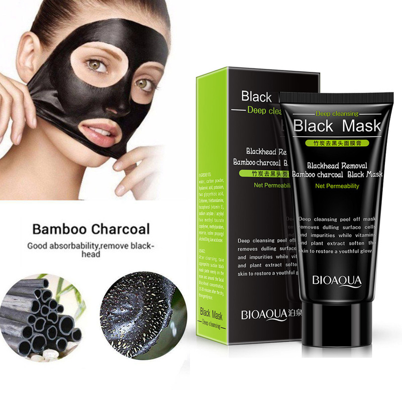 Purifying Peel Off Black Nud Facail Face Black Mask Blackhead Remove Facial Masks Deep Cleansing Clear Stubborn Blackheads TSLM1