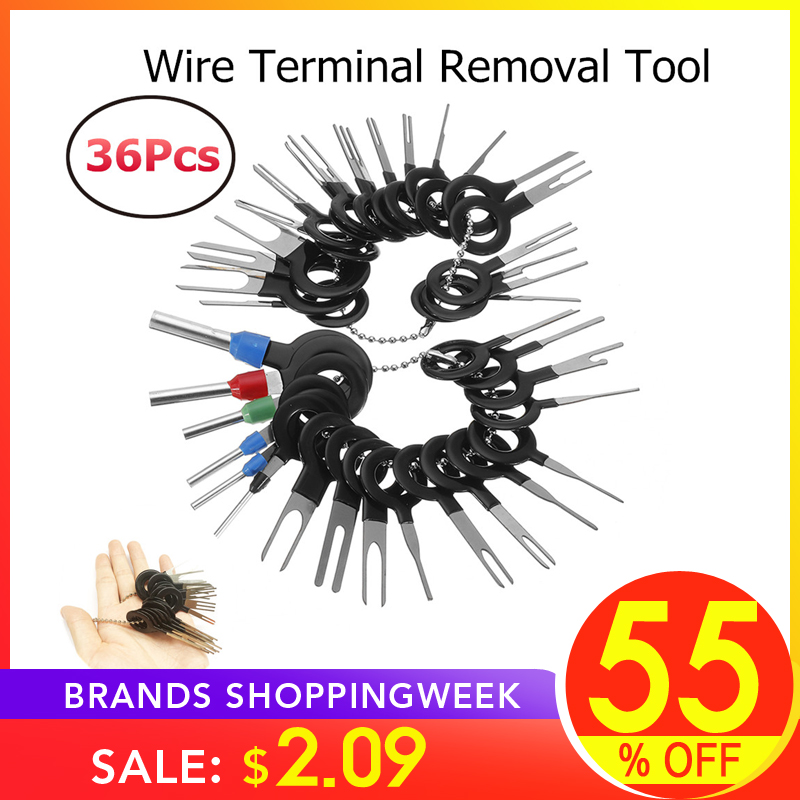 Pin-Extractor-Kit Hand-Tools Car-Terminal-Removal Crimp-Connector Electrical-Wiring 36pcs