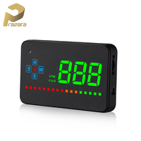 Prazata Hud GPS Digital Head Up Display Car Speedometer Auto HUD Windshield Projector Electronics Car Warning Systems Hudup