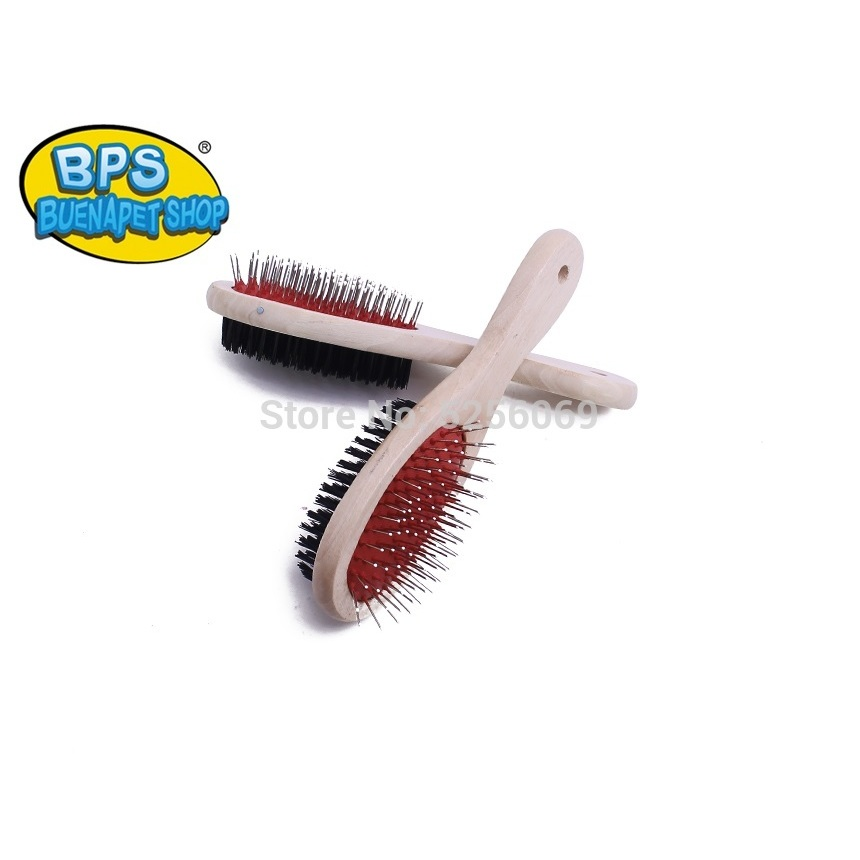 BPS®Brush Double-sided So Pets, Pet Dogs Or Cats, Hair Brush