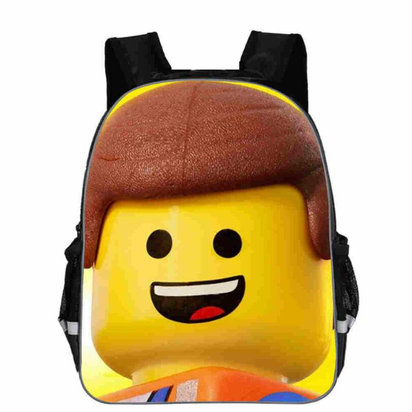 High Quality Lego Ninja Cartoon Backpack Kids Schoolbags Cool Children Student Boy School Bag Lego Mochilas Sac A Dos
