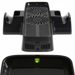 Image 3 - Game Console Cooler with Dual Holding Dock Gamepad Cooling Fan with Dual Dock Stand for XBOX 360 Game Controller