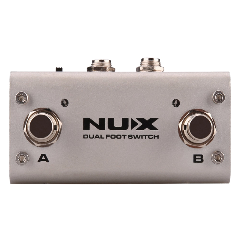 Nux Nmp-2 Dual Footswitch Double Stepping Foot Switch To Switch Loop Core Deluxe Or Jtc Pro Drum Machine Phrase