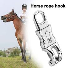 High Quality Alloy Equestrian Panic Quick Release Hook Clip Practical And Durable Horse Rope Buckle Pet Dog Horse Riding Buckle