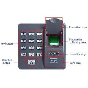 Image 3 - Система считывания отпечатков пальцев, биометрическая клавиатура контроля доступа RFID с клавиатурой и паролем + 10 брелоков