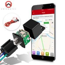 Автомобильный трекер MV730, скрытый дизайн, Отключение подачи топлива, буксировка, оповещение, GPS, Moto, ACC, обнаружение, реле, мини GPS трекер, автом...