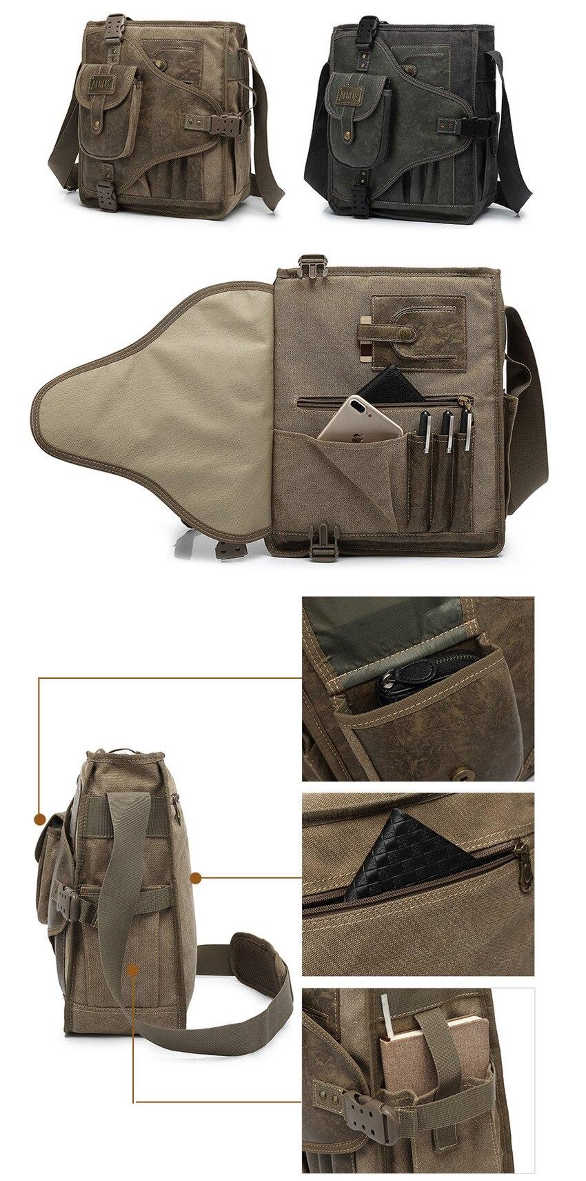 Cheap mens messenger shoulder bag