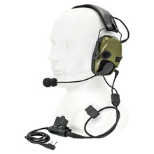 Intercom Headphone Tactical Electronic Shooting Earmuffs Outdoor Anti-noise Amplification Hunting Hearing Protection Headset