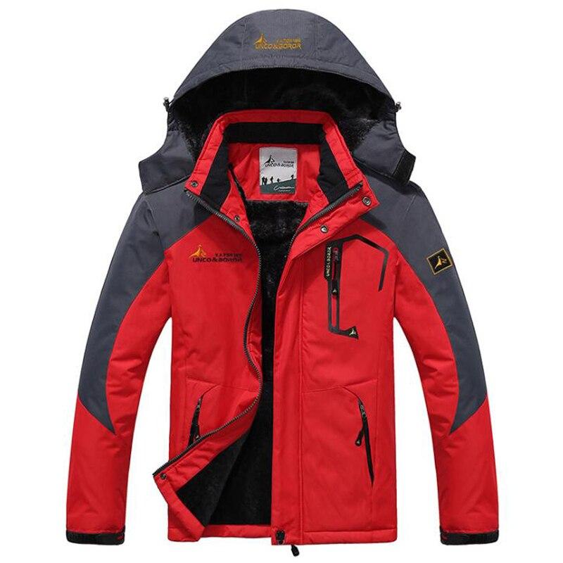 Winter Parka Men Windbreak Plus Velvet Thick Warm Windproof Fur Coats Male Military Hooded Anorak Jackets Men's Outwear Overcoat