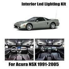 Para Acura NSX 1991-2005 Canbus vehículo LED Interior Domo luz en el maletero lámpara de placa de matrícula Kit de coche accesorios de iluminación