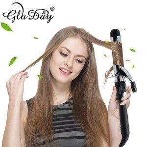 Image 2 - Profesyonel saç maşası saç maşası elektrikli saç bigudi rulo saç kıvırma çubuğu
