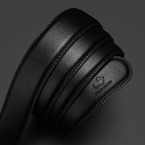 Image 4 - バイソン本自動メンズベルト高級ストラップベルト男性のためのデザイナーベルト男性高品質のファッションベルトN71416