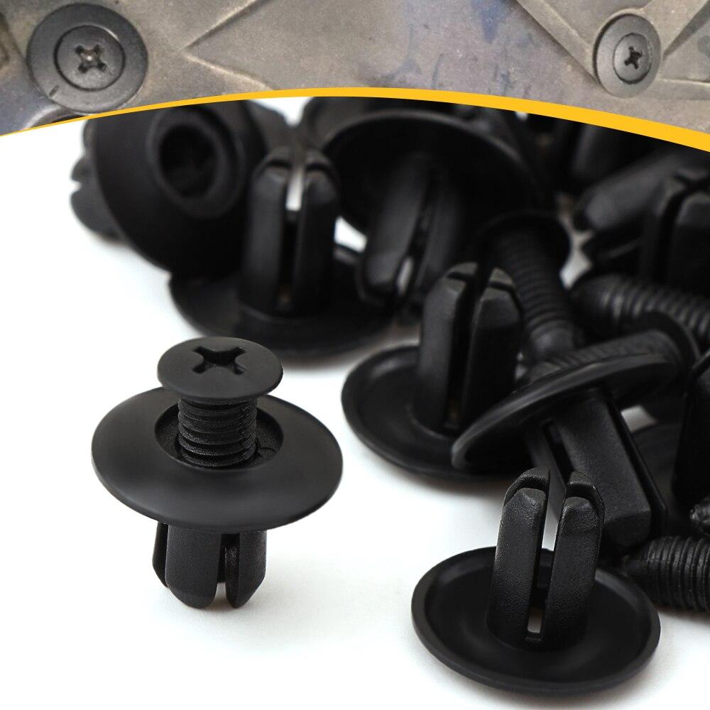 40x Bumper Trim Door Sill Wheel Arch Clips Rivet Retainer 51118174185 For BMW