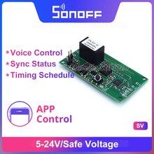 Itead Sonoff SV 5-24 в безопасное напряжение Беспроводной Wi-Fi модуль переключателя для умного дома поддержка вторичной разработки работа с приложен...