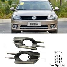цена на ECAHAYAKU auto led Car Bumper Fog Lamp led head Source Bulb DRL Daytime Running Driving Light For Volkswagen Bora 2013 2014 2015