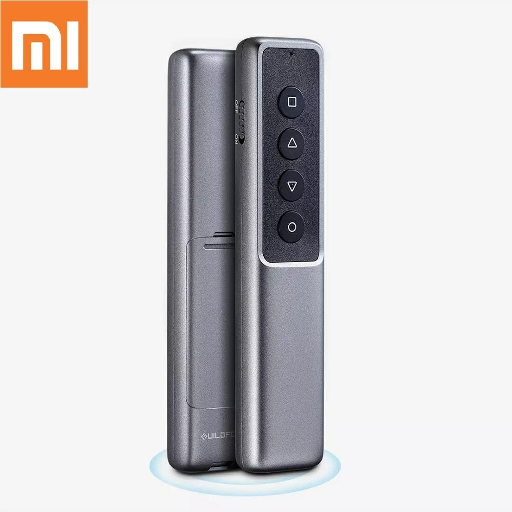 Xiaomi GUILDFORD Wireless Presenter Laser Pager Flip Pen PPT Remote Control Pointer Pen For PowerPoint Teacher Meeting Host