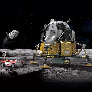 Image 3 - ของเล่นStar Warsใช้งานร่วมกับMOC 26457 Apollo Spacecraft Building Blocksอิฐประกอบของเล่นชุดเด็กคริสต์มาสของขวัญ