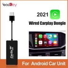Loadkey & carlinkit sem fio carplay rádio android auto para volkswagen vw polo 6r sedan touran touareg t5 passat b5 b6 b7 b8 cc