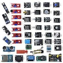 Стартовый комплект для модулей датчиков arduino 45 в 1, лучше, чем комплект датчиков 37 в 1, комплект датчиков 37 в 1 UNO R3 MEGA2560