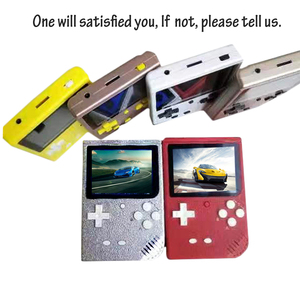 Image 4 - O mini portátil retro consola de jogos handheld 64 bit 3.0 Polegada cores lcd caçoa o jogador do jogo da cor construído em 1000 jogos com cartão do sd