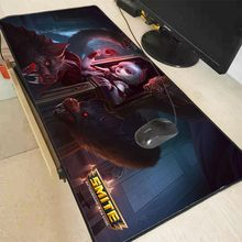 All Kinds of Heros Pattern To Choose Big Rubber Table Mousepad Mats SMITE Hot Moba Game Gaming Pc Laptop Mat for Lol(China)