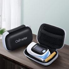 Sac de stockage d'oxymètre emballage médical organisateurs de pressage des doigts boîtier de compteur d'oxygène paquet de stockage numérique boîte livraison directe