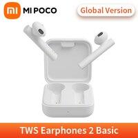 Xiaomi-auriculares inalámbricos Mi True 2 Basic (Air2 SE), cascos con Bluetooth, TWS, SBC/AAC, Control táctil, versión Global