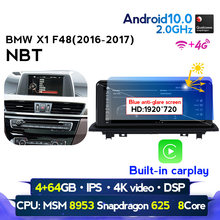 4G LTE WIFI أندرويد 10 راديو السيارة لتحديد المواقع والملاحة لسيارات BMW X1 F48 2016 2017 2018 NBT سيارة الملاحة الوسائط المتعددة واي فاي 4G مشغل ديفيدي