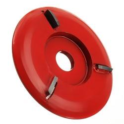 90Mm średnica 16Mm otwór czerwony moc tarcza do rzeźbienia w drewnie szlifierka kątowa w Młynki od Narzędzia na
