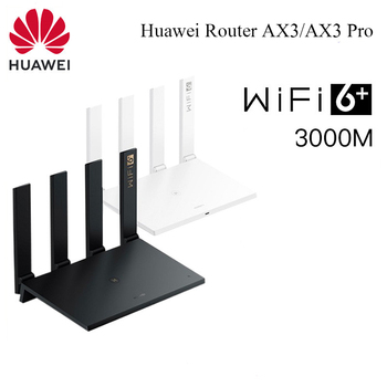 Huawei WiFi AX3 /AX3 Pro Quad-core Dual-core Router WiFi 6+ 3000Mbps 2.4GHz 5GHz Dual-Band Gigabit Rate WIFI Wireless Router Accessories Electronics