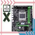 Строительный Идеальный компьютер HUANAN X79  материнская плата  процессор Intel Xeon E5 2670 V2 RAM 16G DDR3 REG ECC WUSON store  хороший компьютер DIY