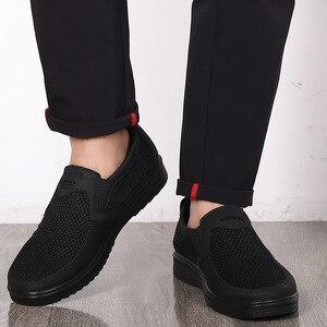 Image 5 - Yeni erkek rahat ayakkabılar, erkekler yaz tarzı örgü Flats erkekler için mokasen sürüngen rahat High End ayakkabı çok rahat baba ayakkabı