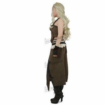 Daenerys Costume Brown Cosplay Halloween 3