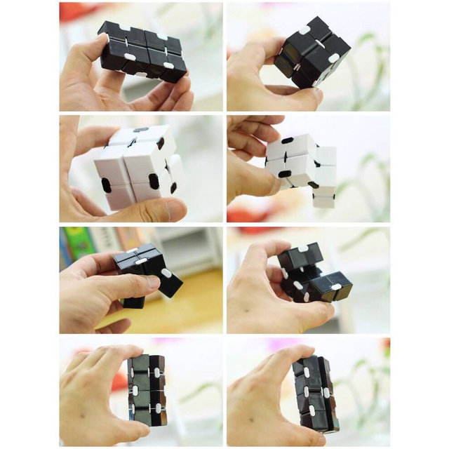 New Magic Cube Puzzle Cube Durable Exquisite Decompression Anti-stress Professional Educational Toys For Children Adults 4