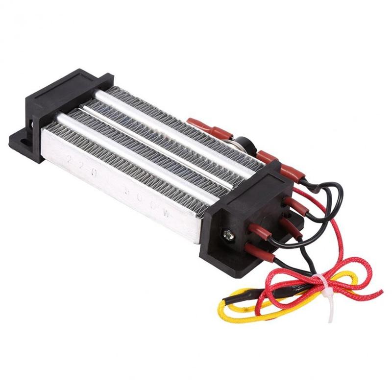 PTC Heaters Thermostatic Heating AC 220V 500W Multipurpose Multifunction Air Heater Insulation Heater Incubator