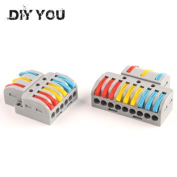 Szybkozłącze PCT SPL uniwersalny kabel połączeniowy złącza wtykowe listwa zaciskowa Led light rozdzielacz elektryczny tanie i dobre opinie DIY YOU CN (pochodzenie) NC-633 933 415V