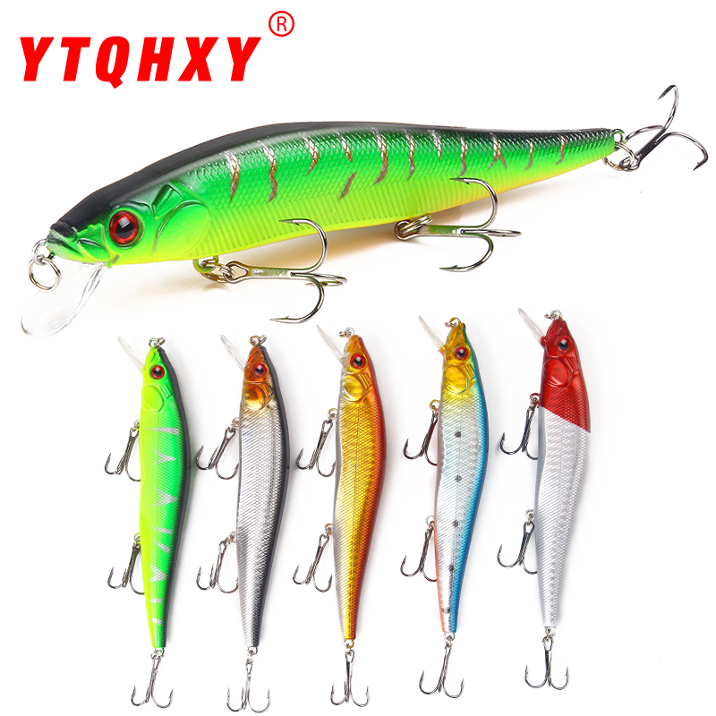 14cm 23g Wobbler Fishing Lure Minnow Crankbait Peche Bass Trolling iscas artificiais Hard Bait Pike Carp Fishing