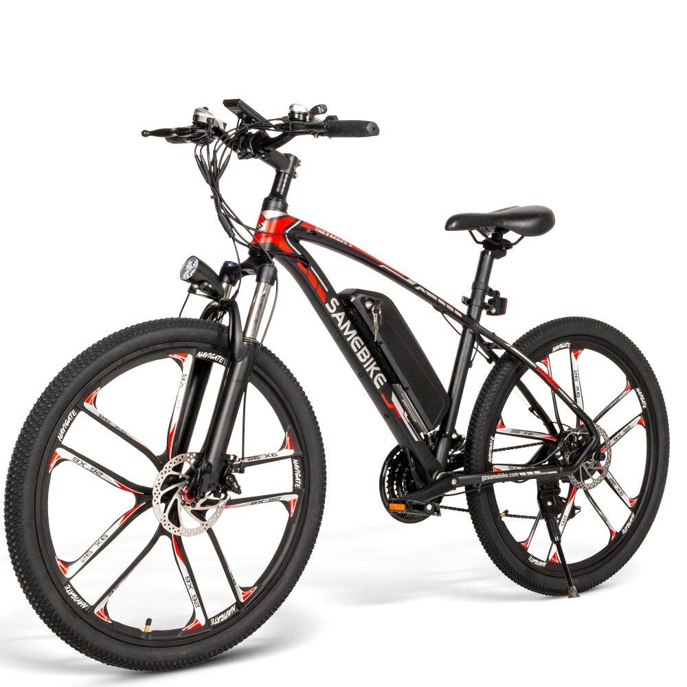 Samebike 48V350W ebike wheel 26 inch MTB Bicycle Electric Mountain Bike