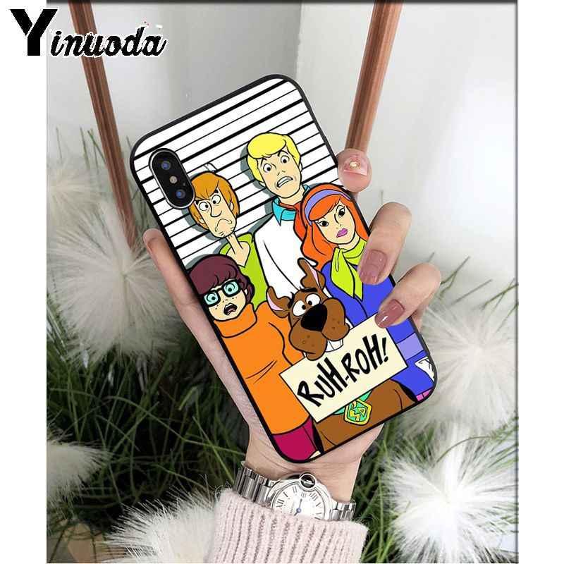 Yinuoda Shaggy und Scooby Doo TPU Weichen Silikon Telefon Fall Abdeckung für Apple iPhone 8 7 6 6S Plus X XS MAX 5 5S SE XR 11 11pro max