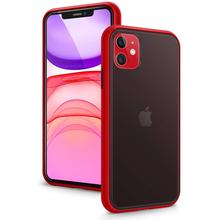 Matowy futerał na telefon iPhone 11 Pro Max 12 Mini 12Pro X XS XR 7 8 Plus 6 6S SE 2020 luksusowe marki silikonowy pokrowiec na aparat fotograficzny tanie tanio Ascromy CN (pochodzenie) Bumper Matte Case For iPhone 11 Pro Max 11Pro X XS XR 7 8 Plus 6 6S SE 2 2020 Apple iphone ów