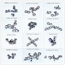 Metalen Afdichting Miniatuur Lager Meerdere Maten 10 Stuk Gratis Verzending Bearing MR63 MR74 MR85 MR95 105 106 115 117 126 128 137 148